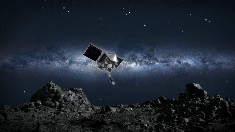 NASA's asteroid-sampling OSIRIS-REx probe will return to Earth in May