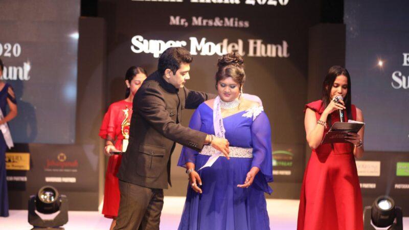 UP Girl Anushri Joshi Bags The Elixir Miss India Popular 2020 in Bangalore