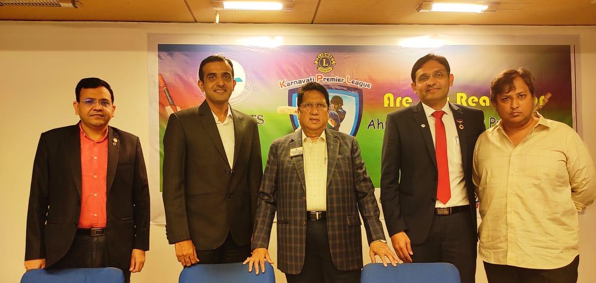 Lions Club of Karnavati launches its maiden Karnavati Premier League to raise fund for philanthropy work