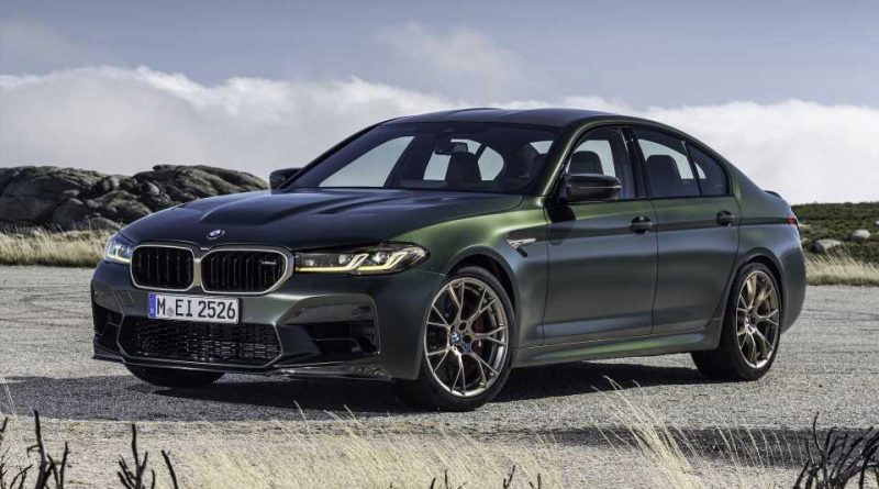 The 2022 BMW M5 CS is still the company's fastest production car