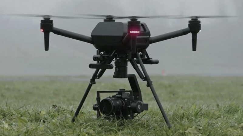 Sony uncovers design and release timeline for its Airpeak Drone