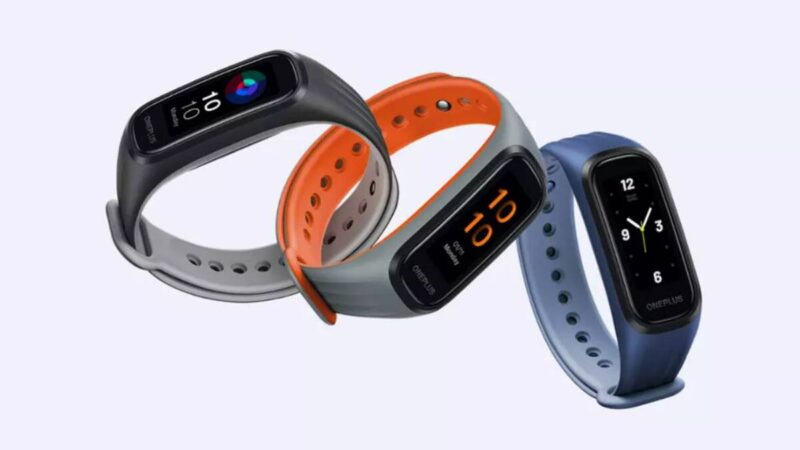 OnePlus unveiled its first smartband