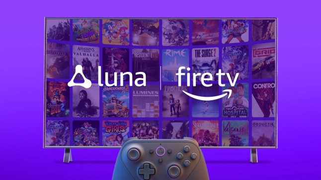 On Fire TVs, Amazon Luna cloud gaming is currently available without an invite