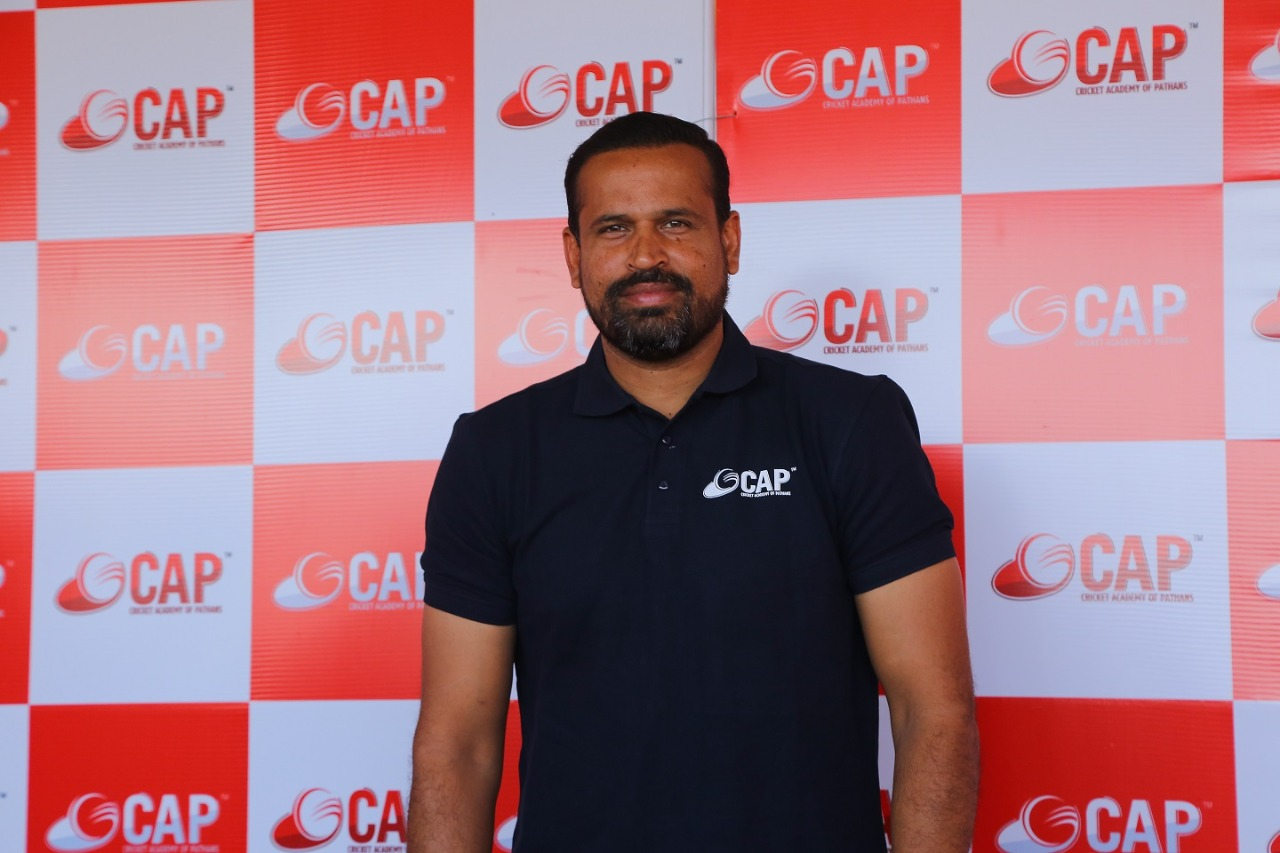 Cricketer Yusuf Pathan inaugurated Cricket Academy of Pathans (CAP) in Hyderabad