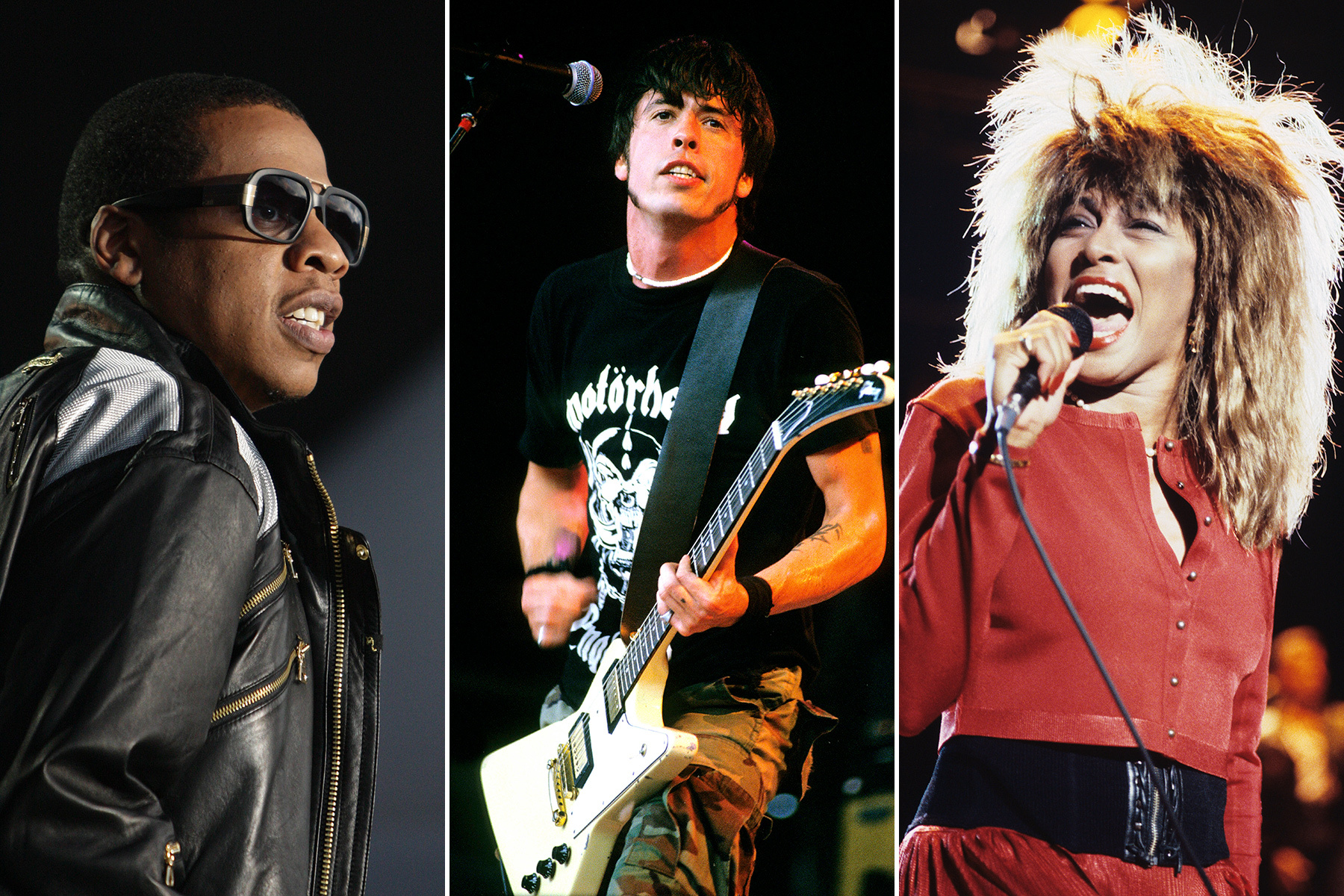 Rock and Roll Hall of Fame 2021 : Tina Turner, Jay-Z, Foo Fighters and The Go-Go nominated