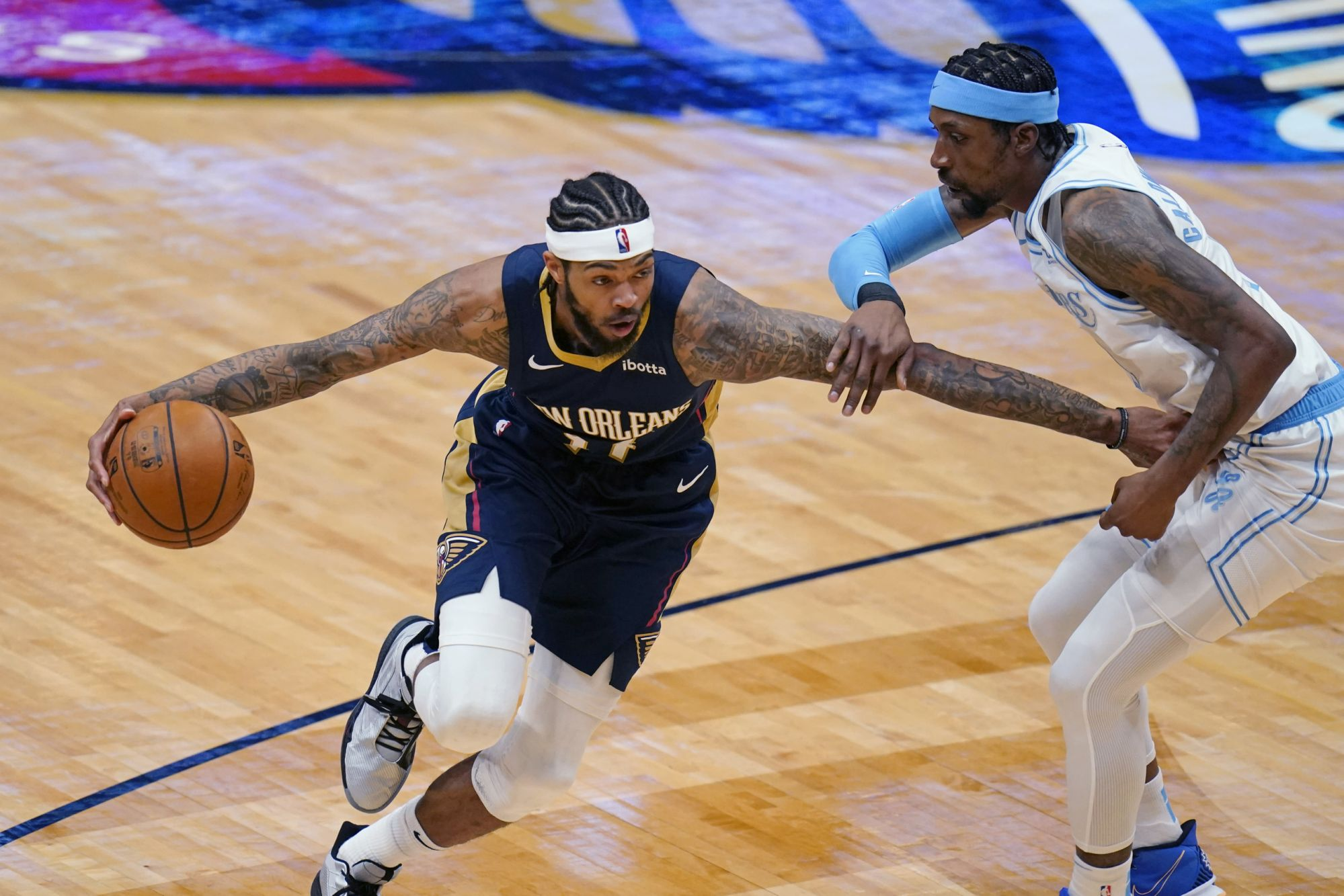 Brandon Ingram and Zion Williamson pace Pelicans in 128-111 win against Lakers