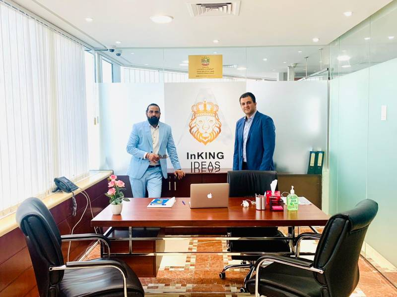 Inking Ideas is on cloud 9 after it gets funded by Dubai based Anza Investment Group