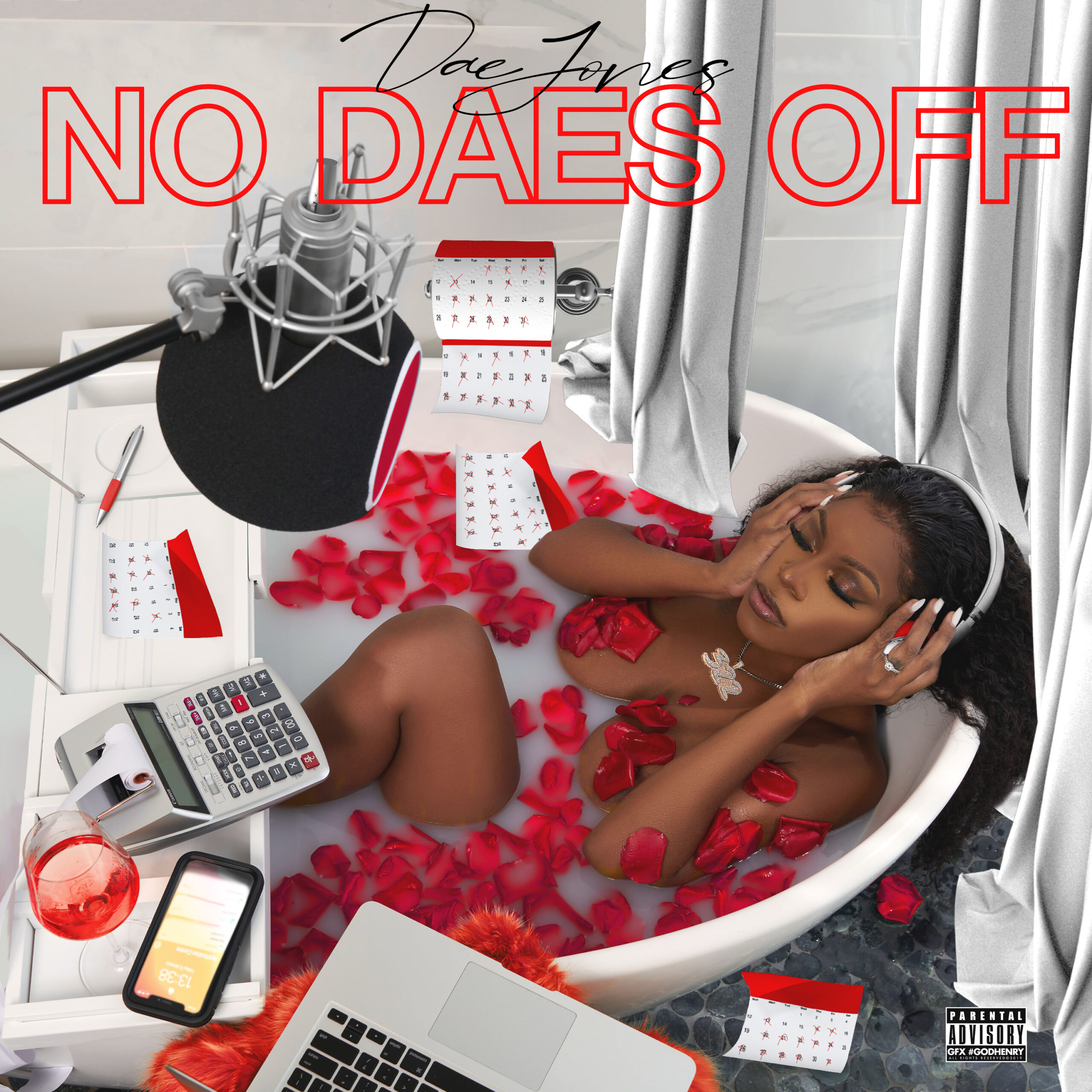 """Dae Jones sells her EP """" No Daes Off"""" for $100, is she the new Nipsey Hussle?"""