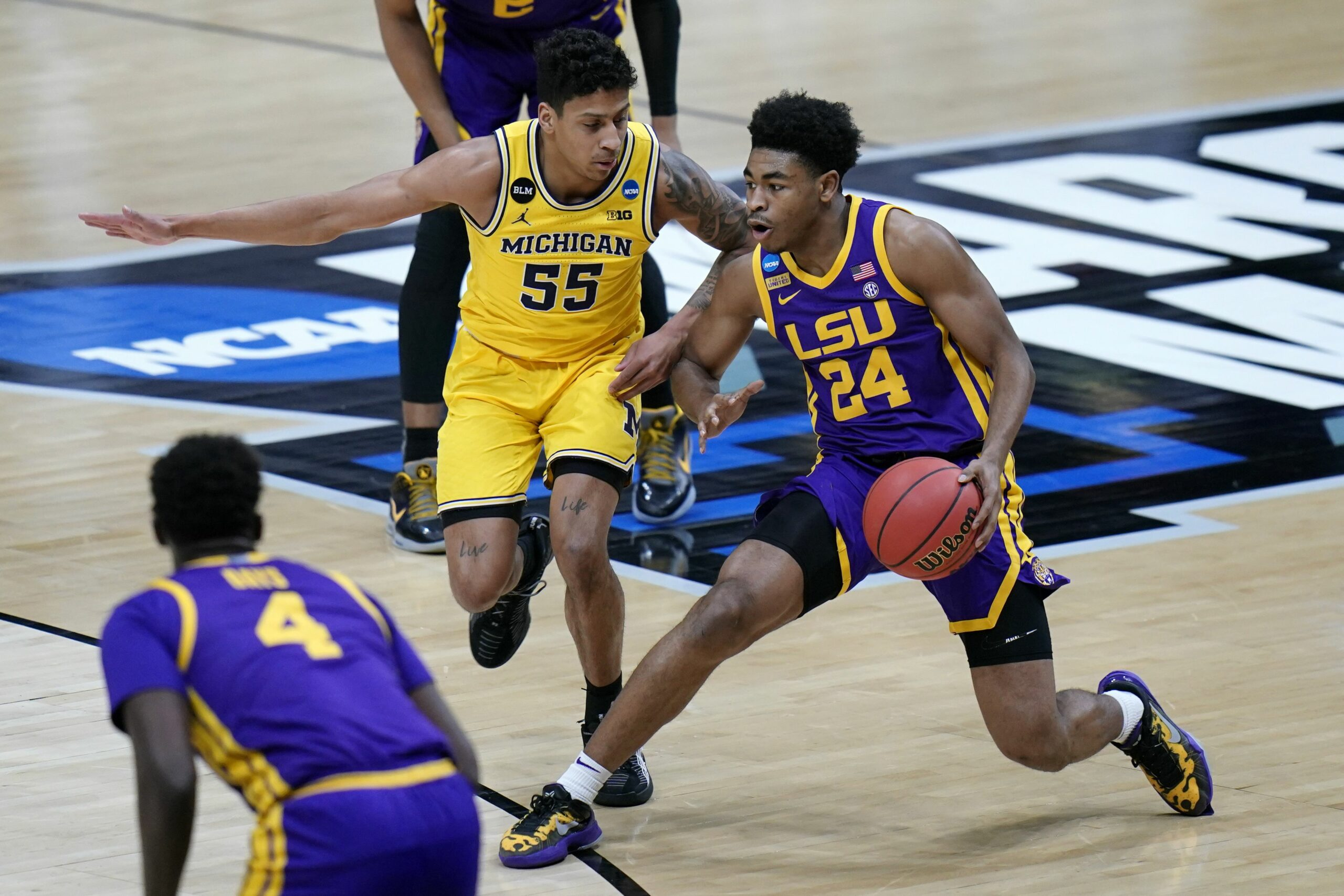 NCAA Tournament: Michigan basketball moves to the Sweet 16 with 86-78 win over the LSU