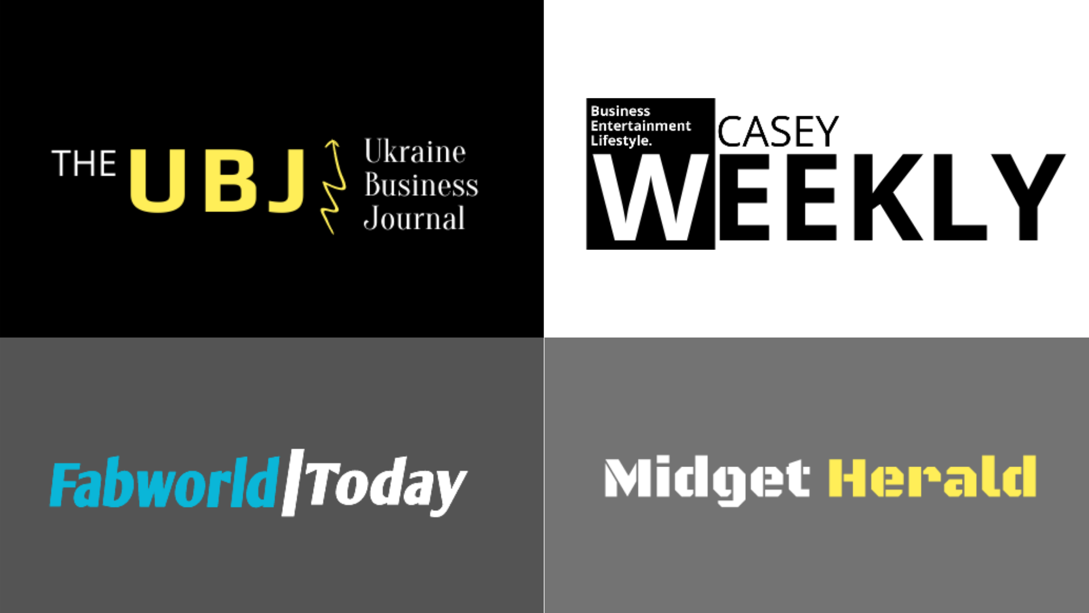 The UBJ, Casey Weekly, Midget Herald, Fab World Today, Witnesses Steady Rise To Become Well-Trusted News And Media Platform