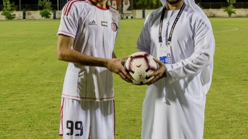 Meet the Talented and exceptional football player : Ismail Jasem Alhosani