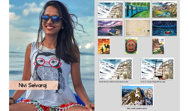 "Nivi Selvaraj: Virtual Travel with ""Talking Postcards"""