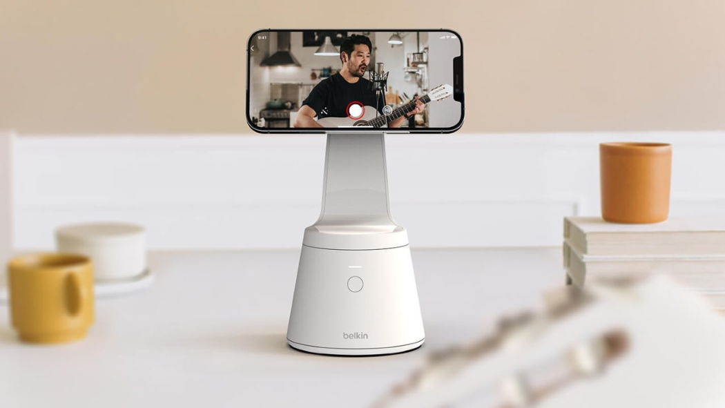 New MagSafe-compatible products of Belkin include a face-tracking iPhone mount