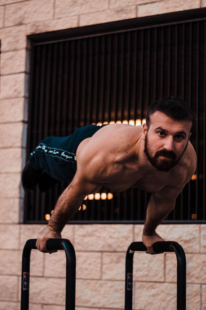 Gymnast and fitness Elvis Gjeci all set to create three world records. Here are the details!