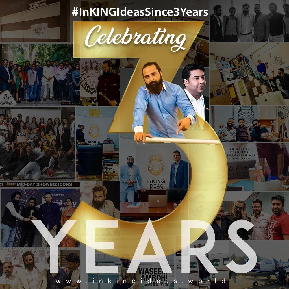 #InKingIdeasSince3Years- InKING Ideas Celebrating 3 Years of Massive Expansion!