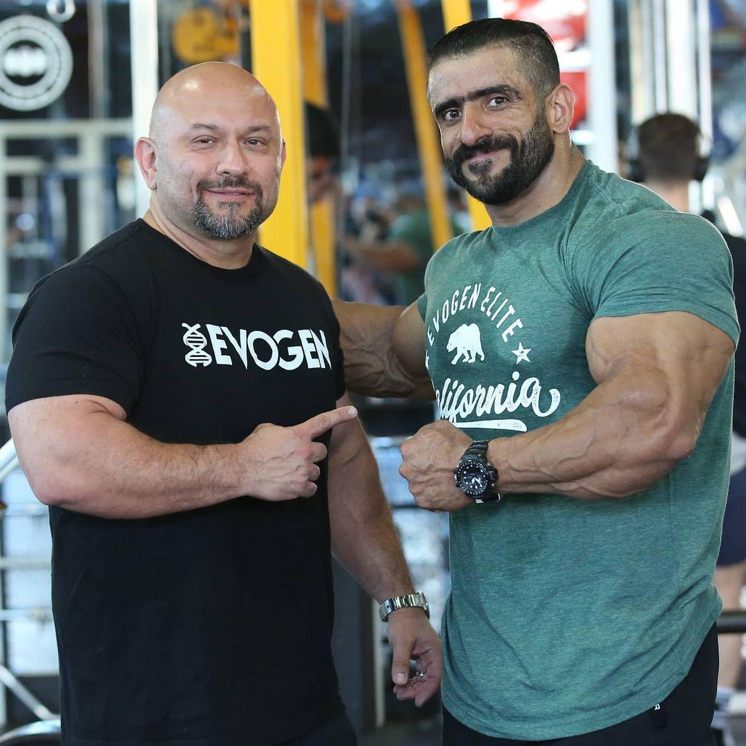 Hadi Choopan aka Persian wolf Making his name synonymous with success as a sought-after bodybuilder of Iran.