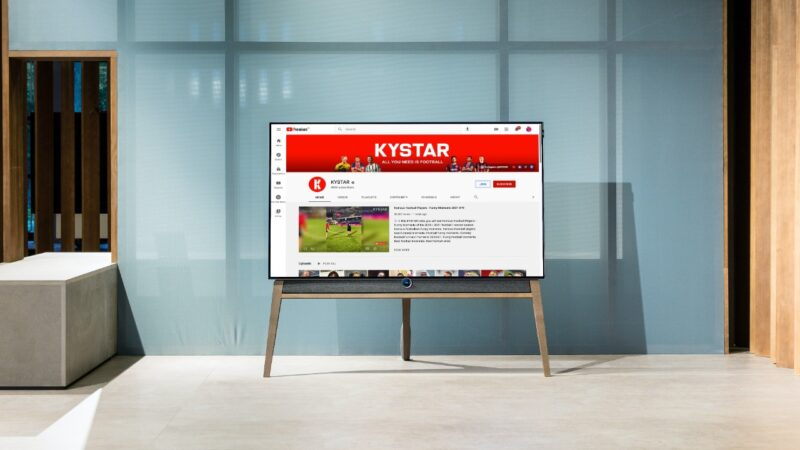 KYSTAR shows the fun side of soccer to its fans