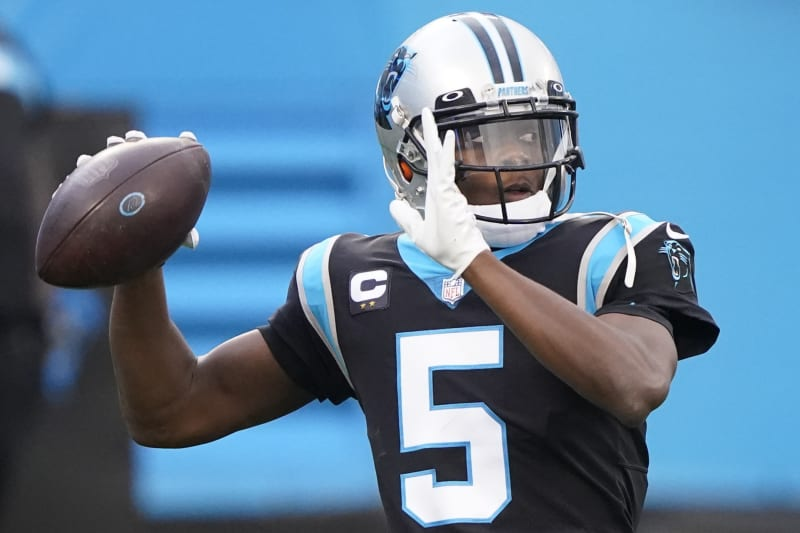 Denver Broncos acquire QB Teddy Bridgewater in a trade from Carolina Panthers for sixth-round pick