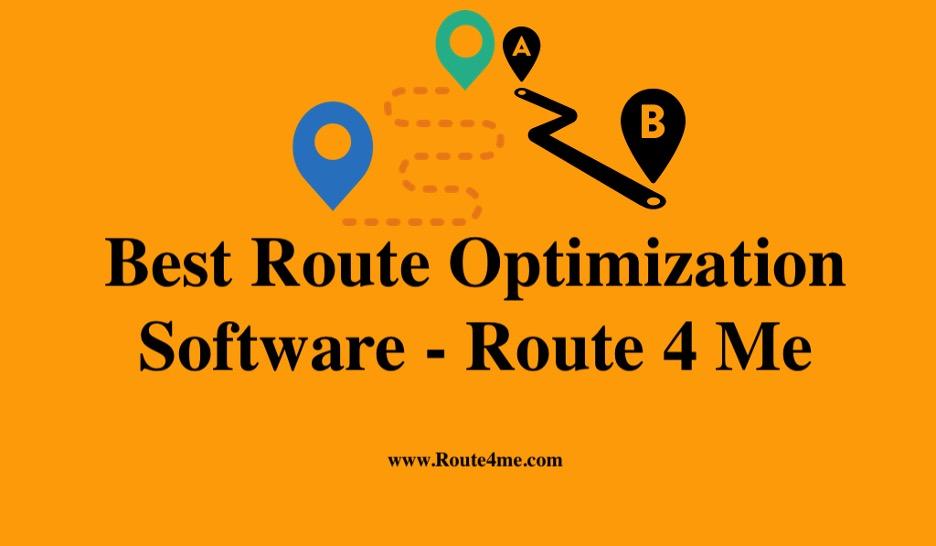 Best Route Optimization Software – Route 4 Me