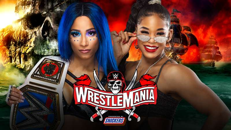 WWE stars Bianca Belair and Sasha Banks make history as the first Black women to face each other in a WrestleMania title match