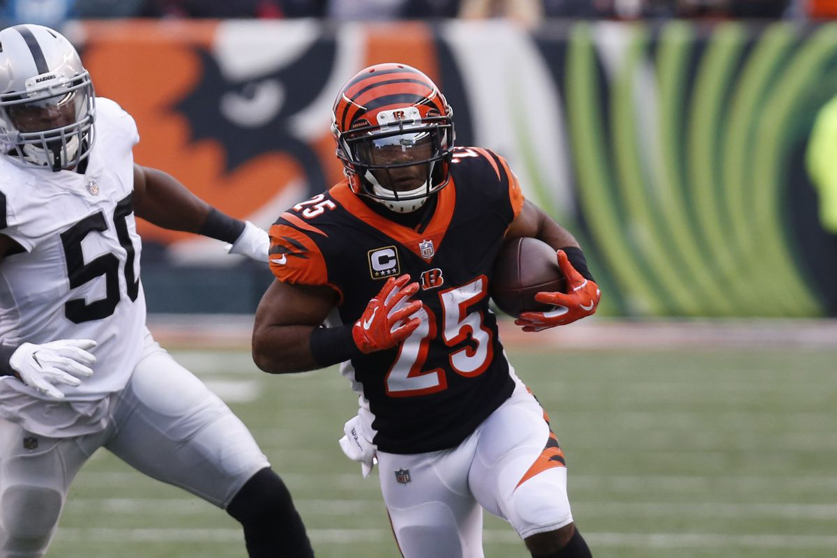 RB Giovani Bernard agree to 1-year deal with Tampa Bay Buccaneers