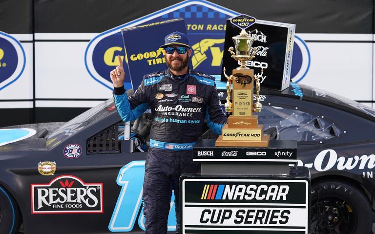 Martin Truex Jr. wins third NASCAR Cup Series at Darlington raceway