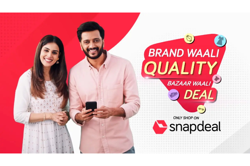 Riteish and Genelia Deshmukh star in Snapdeal's new campaign
