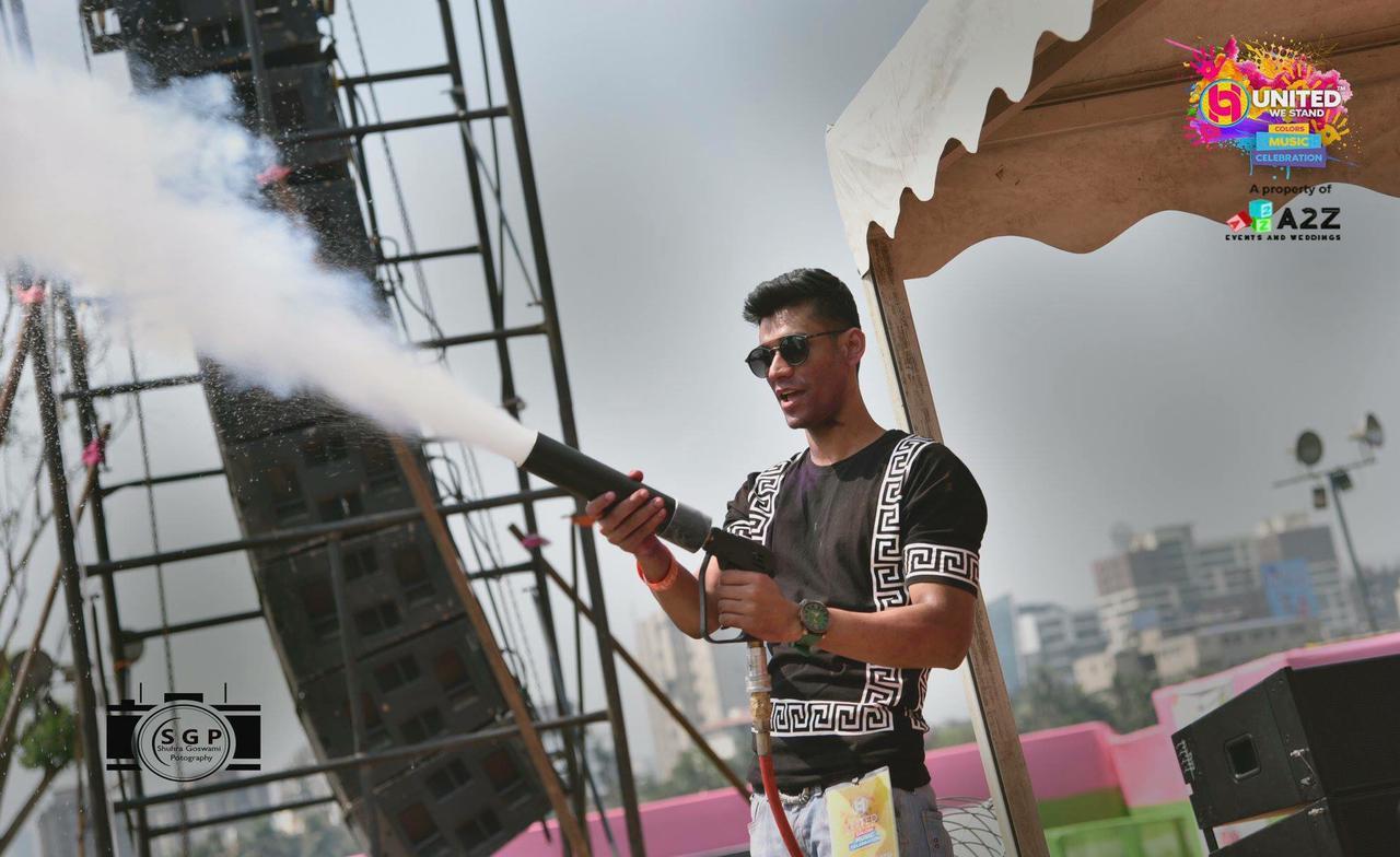 DJ Kunal aka Kunal Mahato believes in disseminating positivity through music