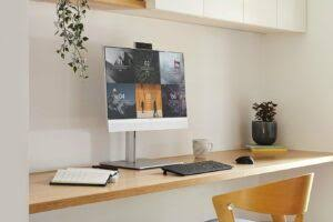 HP's latest all-in-one comes with the AI-based noise reduction and presence awareness