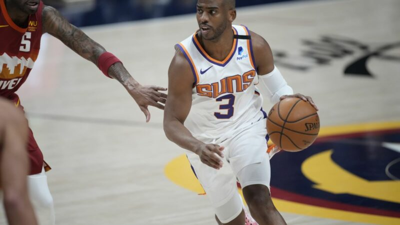 Phoenix Suns' Chris Paul entered NBA's health and safety protocols and is out indefinitely