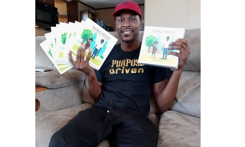 Ka'Ron Gaines making it big in the literary world with Woke Seed Book