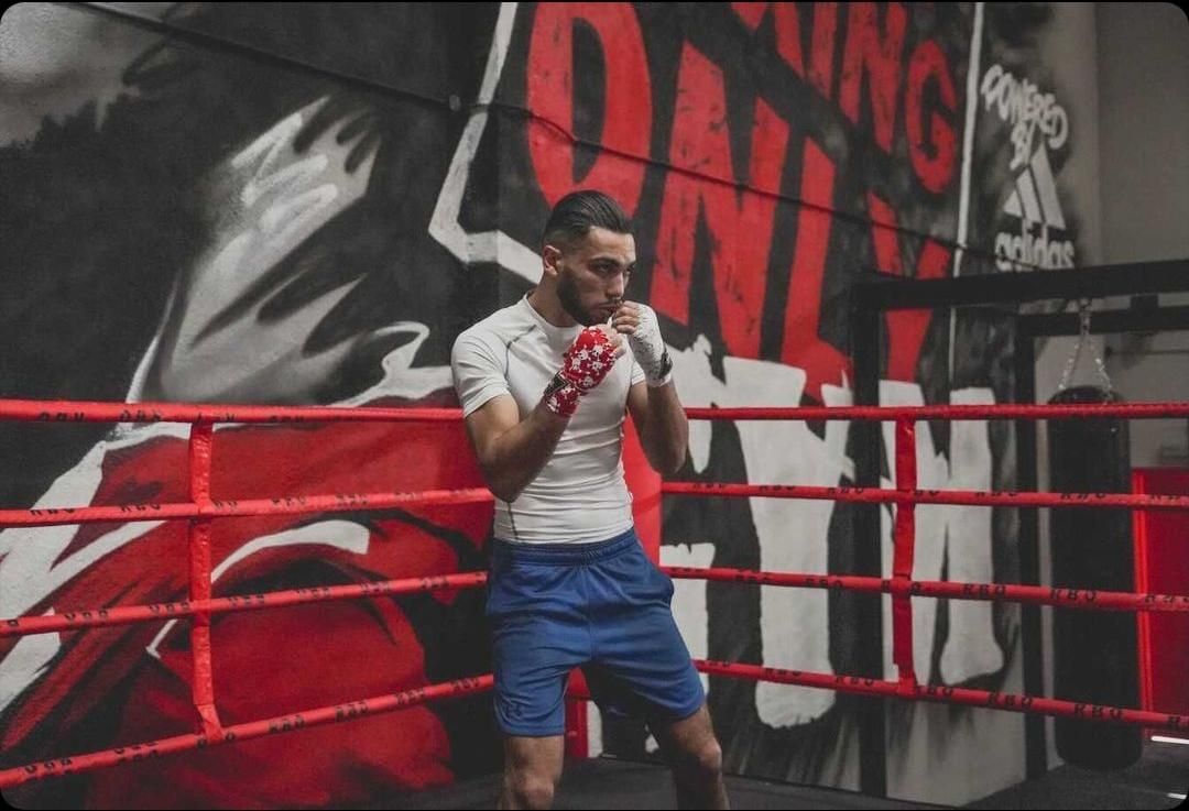 Jaber Zayani Is A Talented Professional Boxer Working Hard Towards His Goals