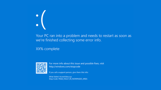 Microsoft is changing its Blue Screen of Death to black in Windows 11