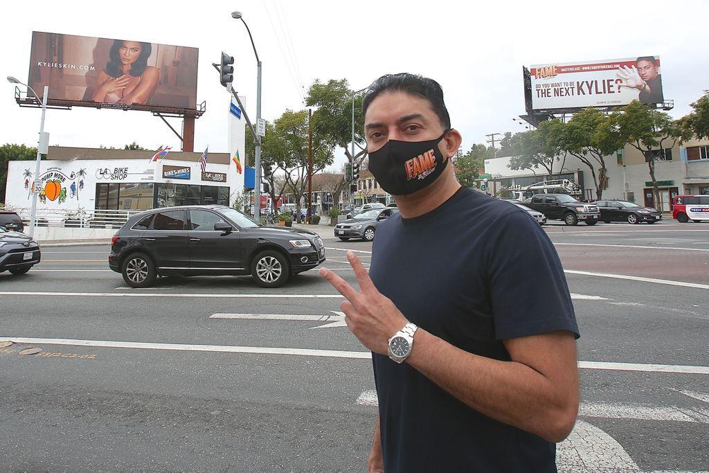 Media Guru Sheeraz Hasan Pokes at Kylie Jenner With Giant Billboard Across From Hers