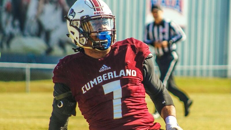 Cumberland's football player Jonquall Carrothers tops the popularity charts by featuring on CNN.