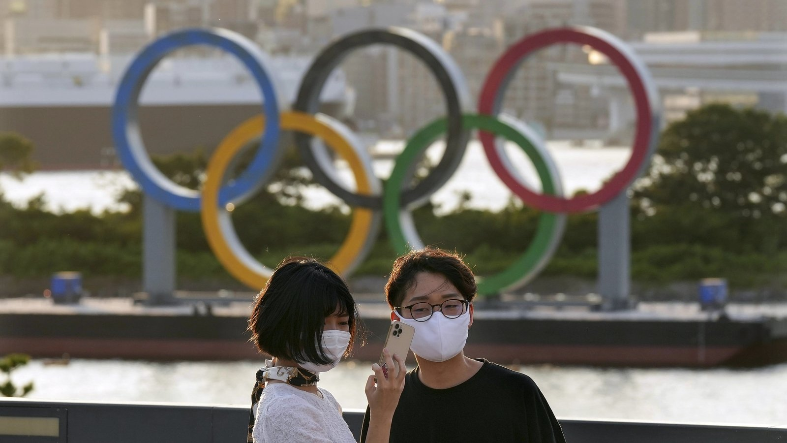 Japan's economy bounced back in front of the Olympics, data shows
