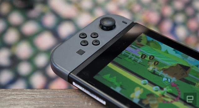The Switch is the primary console to sweep Japan's game sales chart in 33 years