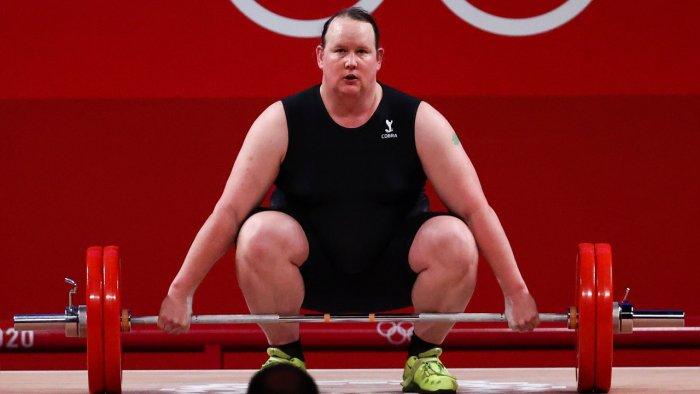 New Zealand' Laurel Hubbard becomes first out transgender woman to compete in 125-year history at the Olympics