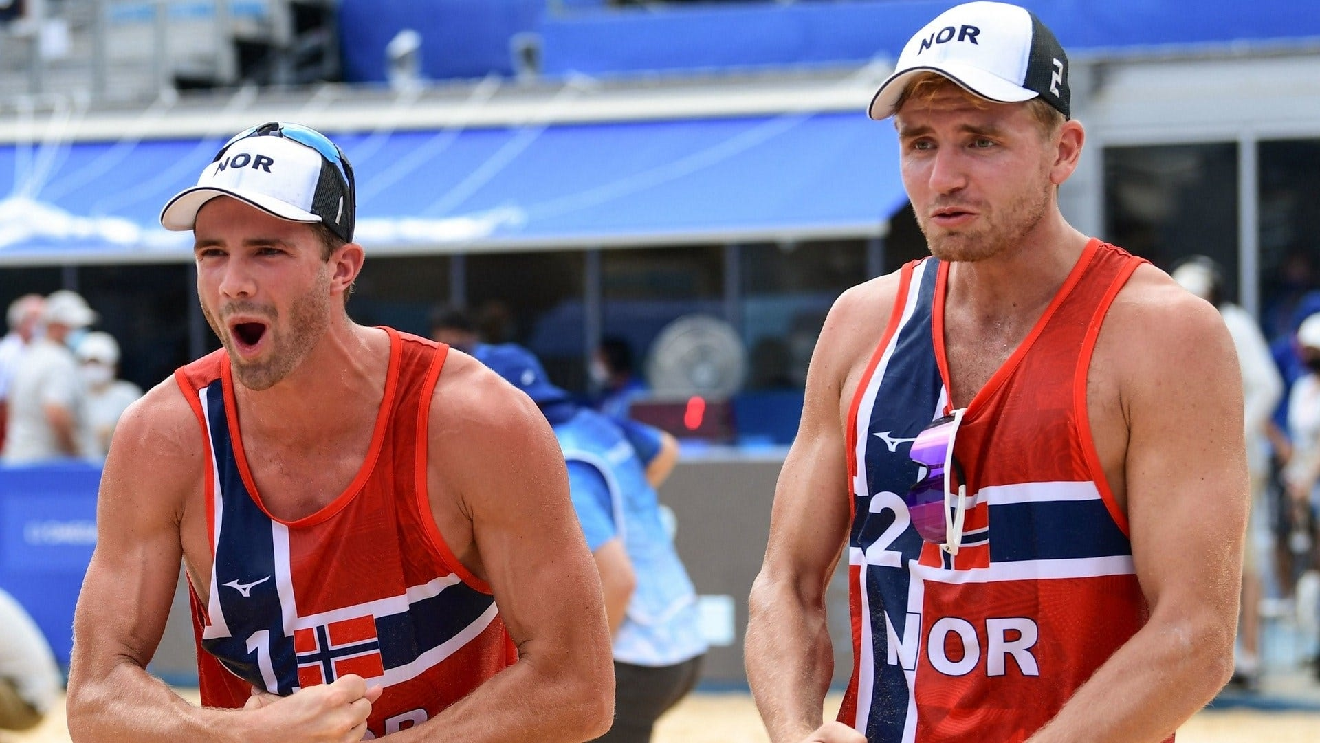 Tokyo Olympics: Christian Sorum and Norway's Anders Mol win men's beach volleyball gold