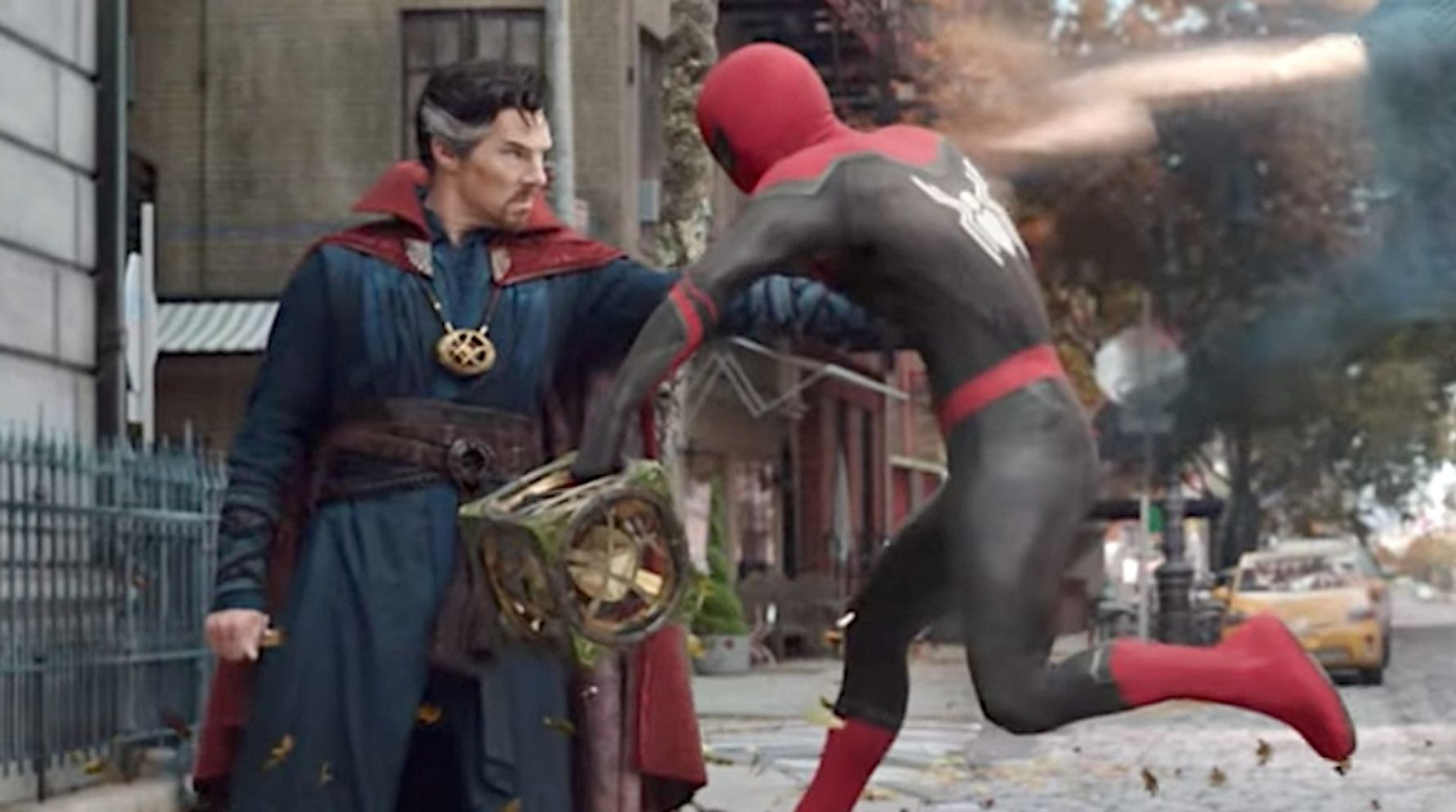 Unusual New Spider-Man Trailer Drops And, Yes, Marvel Is Officially Going There