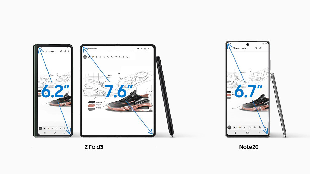 Samsung's Note line is dead, and the Z Fold 3 doesn't support its S Pen