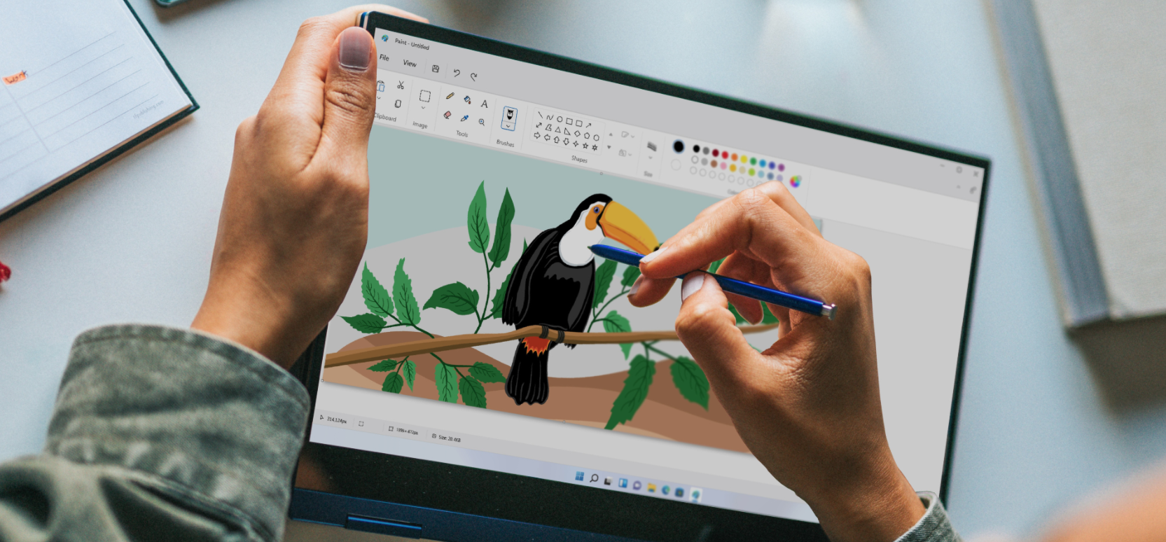 MS Paint and Photos is getting a new fresh version in Windows 11
