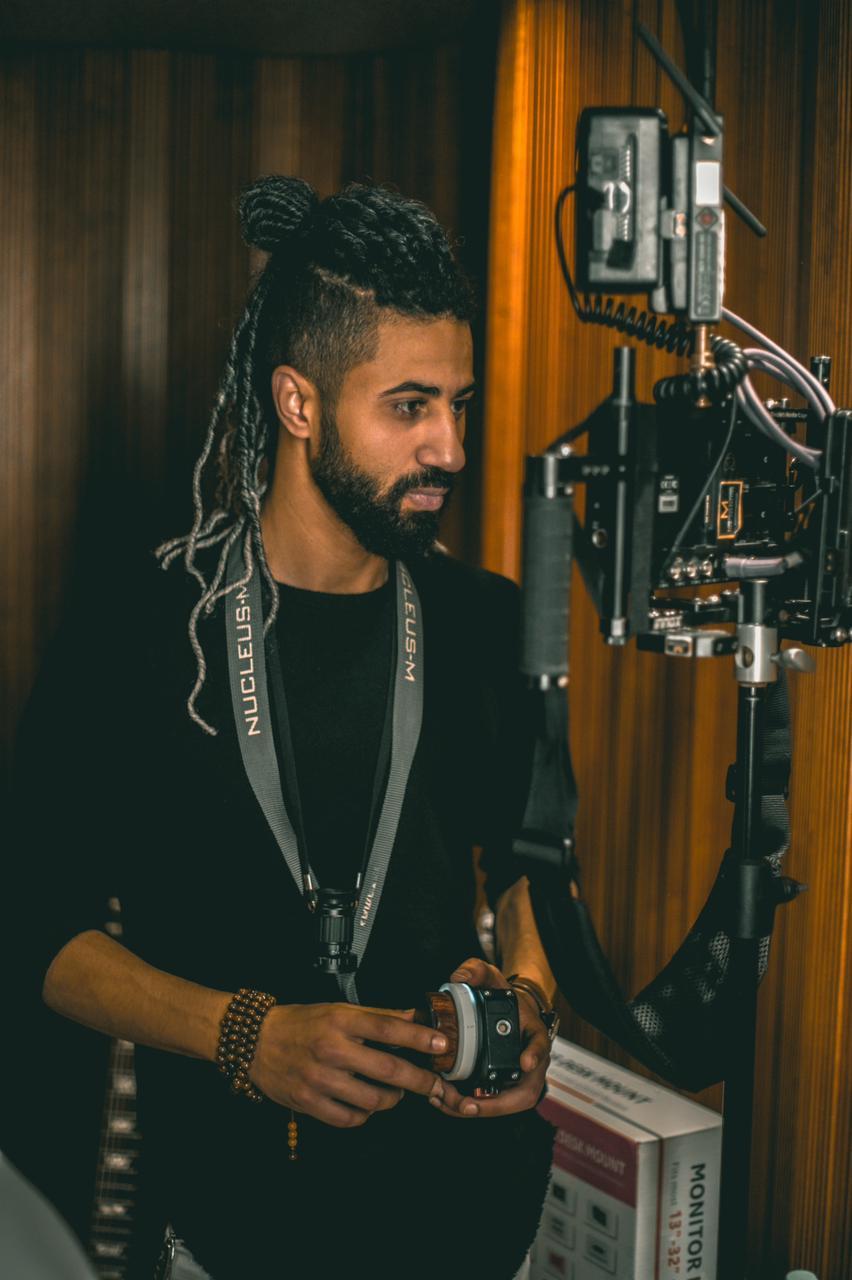 Omar El Sherif inspiring the youth through his songs