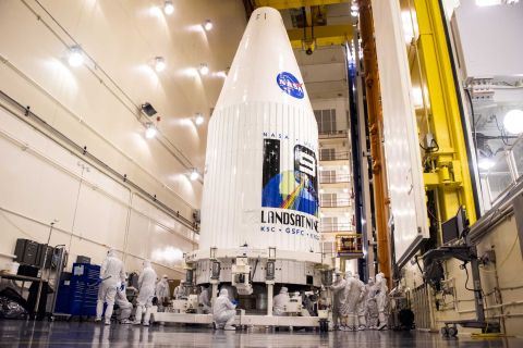 The launch of NASA's new Landsat 9 satellite has been deferred by a fluid nitrogen lack