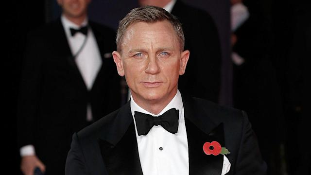 As an honorary member of the Royal Navy, Daniel Craig is a real-life James Bond