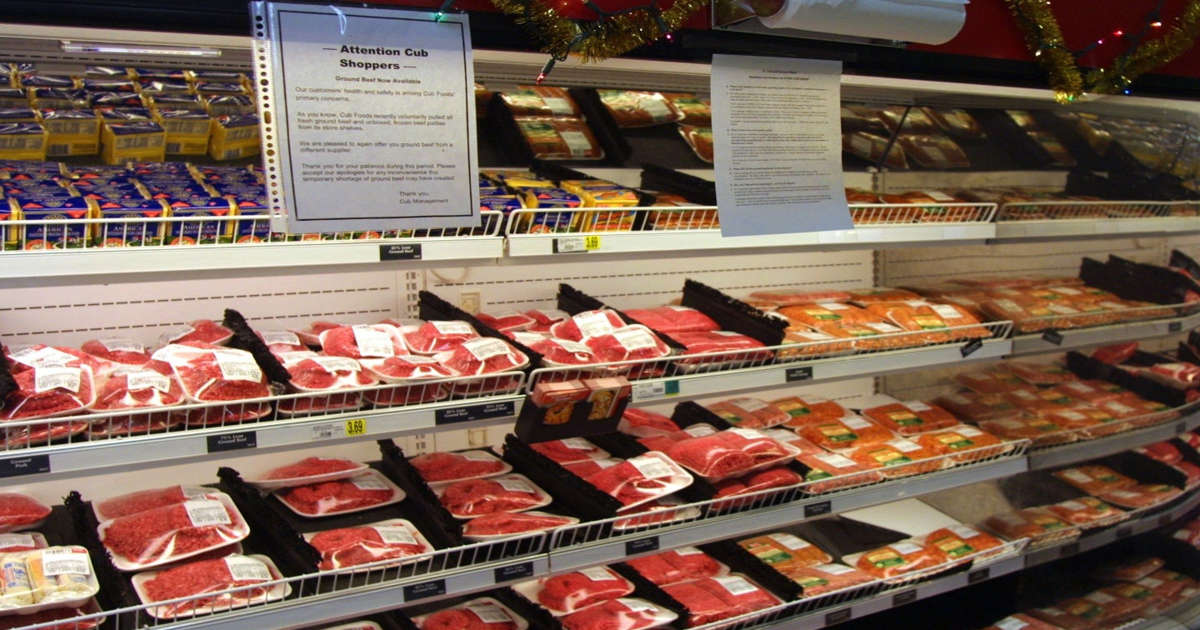 Biden officials are concerned about rising meat prices