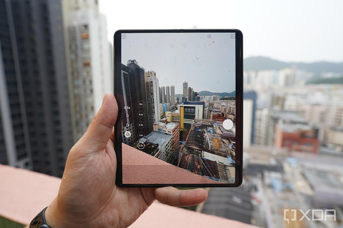 The all-new camera features on Samsung Galaxy Z Fold 3