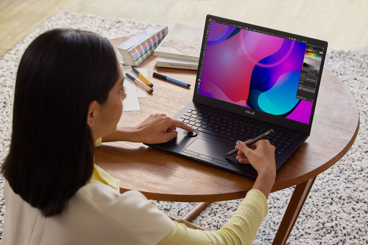 Samsung began mass production of the 90Hz OLED laptop screen