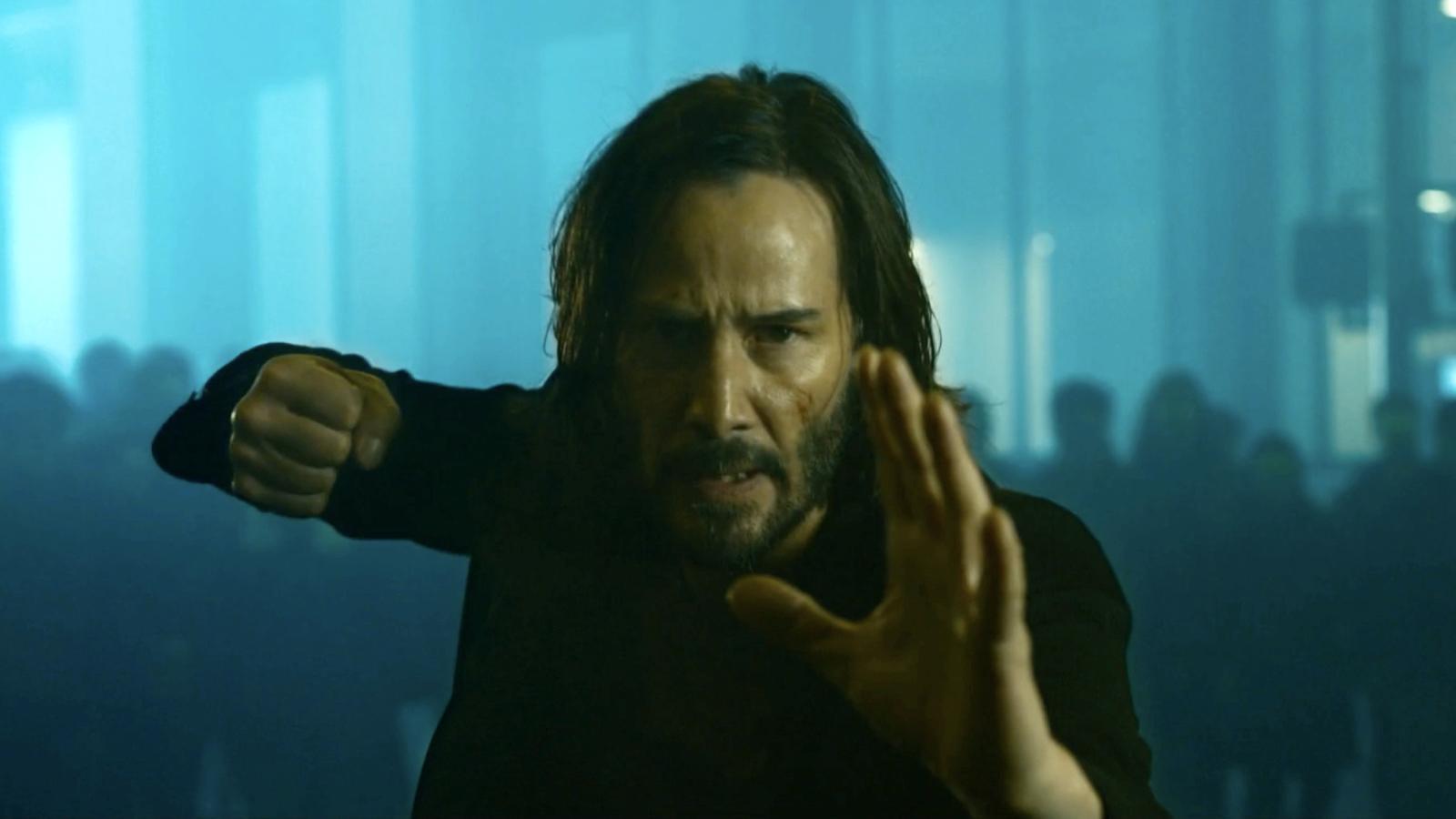 'The Matrix 4' Reveals Innovative First Look at Keenu Reeves, Yahya Abdul-Matin II