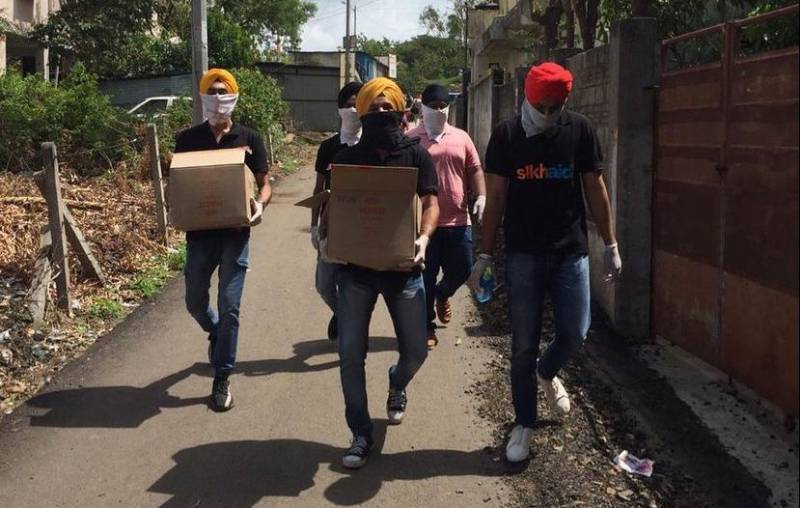 Sikh aid is at forefront of India's COVID relief